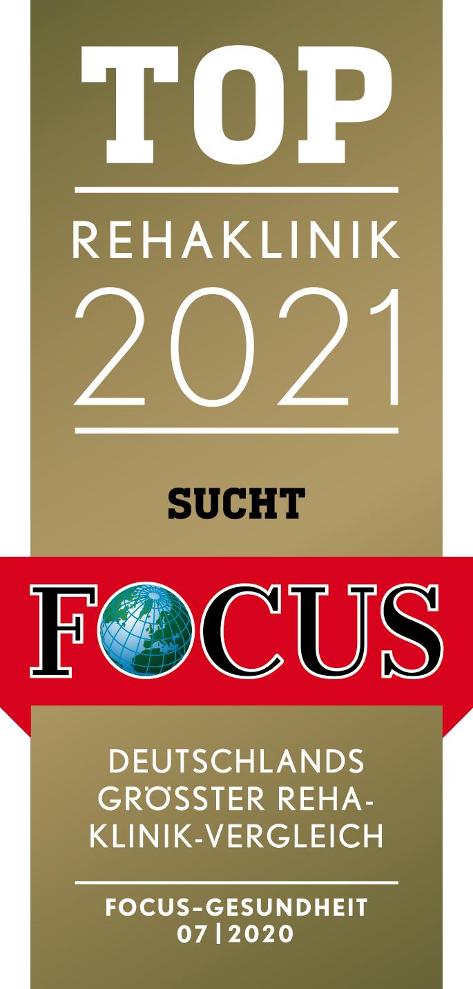 Focus-Siegel SUCHT